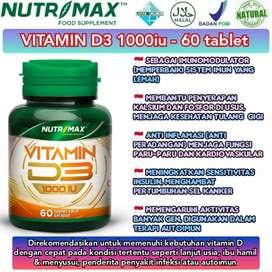 Nutrimax d3 1000 isi 60tab mengatasi sistem imun yang lemah