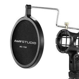 TaffSTUDIO Microphone & Smartphone Stand Holder 360 Degree