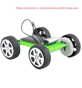 Mainan edukasi diy car solar panel mainan mobil tenaga surya