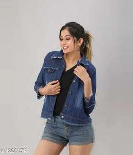 Denim jacket for women