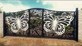 Pagar motif minimalis modrn