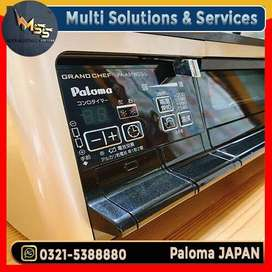 Poloma jappenese stove with grill oven