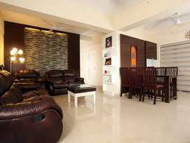 Fully furnished,3BHK,1687 Sq.Ft ready to occupy luxury apartment