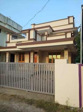 2 bhk 1100 sqft 3.5 cent new build house at aluva near alangad