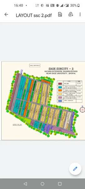 Fully Developed Plots, Covered campus , with all Amenities.