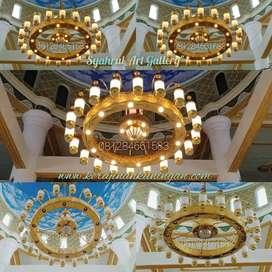 Pusat Lampu Masjid Nabawi Kuningan - Diameter 2.5 meter