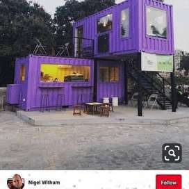 Hi cube container/office containers /porta cabins/prefab houses for sa