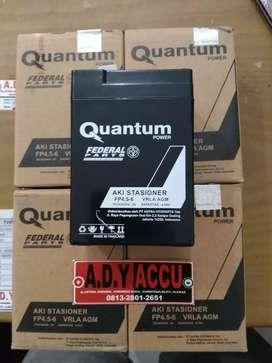 Aki Kering Mobil mainan Quantum 6V 4.5Ah