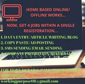 PART TIME HOME BASED WORKS