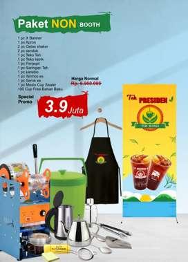 Paket kemitraan teh presiden tanpa booth