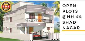 DTCP Approved Open plots for sale at ShadNagar Very Near to Highway bo