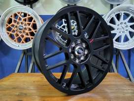 Velg Mobil Racing Nissan March DLL. Ring 17 RAI-S1 HSR - Free Ongkir