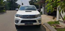 Jual Toyota Hilux Double Cabin Type G 2017