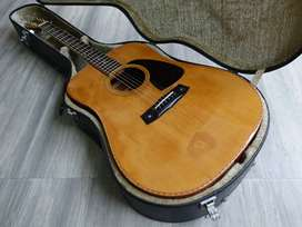 Super Langka Aria Dreadnought Akustik Guitar Solid Japan 1987 AW-30!