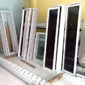 Aplikator pembuatan jendela kaca aluminium