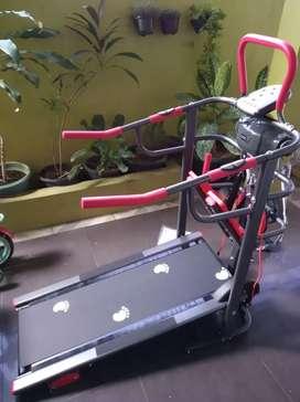 Treadmill manual 6 fungsi ( multiguna treadmill) central fitnes