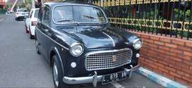 Fiat 1100 1955 restorasi total bodi dan mesin kaki