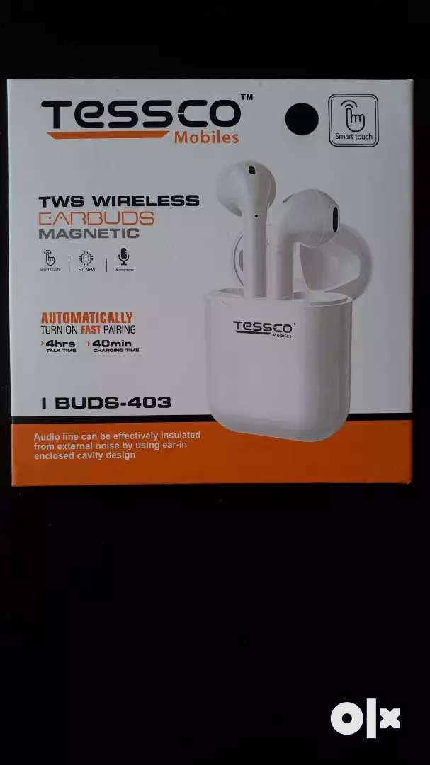 Tessco True Wireless Bluetooth earbud 0