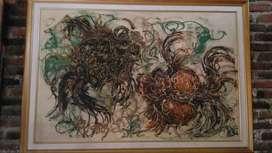 Lukisan Ikan Koki Affandi