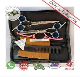 Peralatan Set Gunting Rambut Salon
