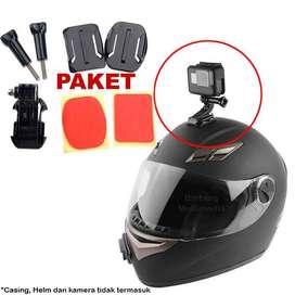 Helmet Mount Gopro Xiaomi Yi / YI 4K Brica Bpro Action Camera
