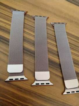 STRAP APPLE WATCH STAINLESS MAGNET ROSE GOLD 38MM FREE ONGKIR