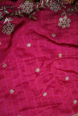Beautiful Women half saree (Unstitched-New one)