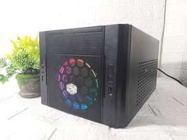 Mini PC Rakitan Gaming Intel I5 4570 VGA GT 1030 2GB SSD 120GB Ready