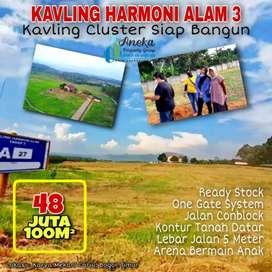 Dijual cepat kavling Harmoni tahap 3 dekat jonggol