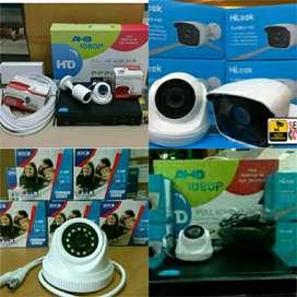 Paket 4Camera CCTV Hikvision Original 2MP Full HD
