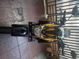All New vixion 2019 yellow