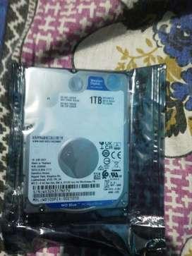 Wd blue 1 tb Laptop internal harddisk