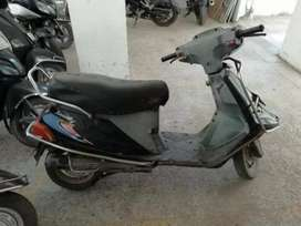 TVS scooty for scrap-sell
