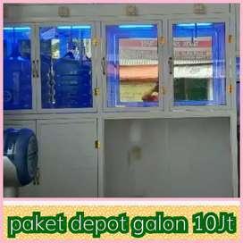Layani depot air 3 pengisian galon , harga cuma 10Jt