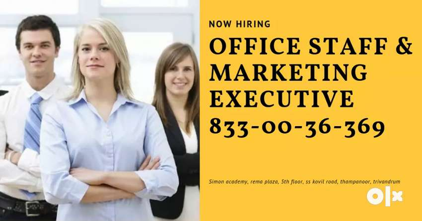 Office staff wanted in trivandrum 0