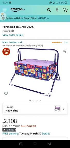 Baby jhoola /baby cot for sale