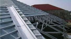Pasang atap rangka baja ringan