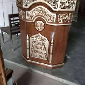 mimbar masjid model simple new
