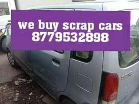 We buy your scrap cars at best price guaranteed