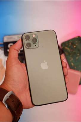 Iphone 11 Pro 64gb Midnight Green Garansi Resmi TAM
