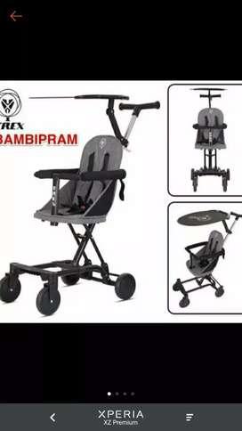 Stroller rider Bambipram