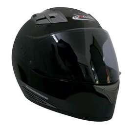 Helm Cargloss Hitam Full Face