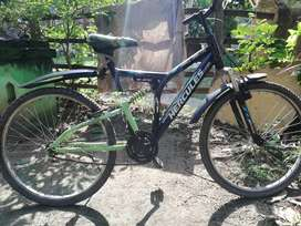 Bicycle is in good condition