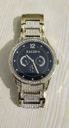 ELGIN Gold Plated Watch Brand New