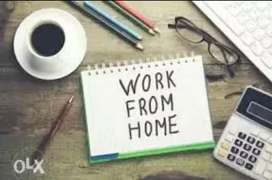 Writing work in home