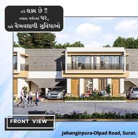Pay 51,000 and Book 1BHK Row House at Olpad Masma Road