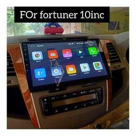 Sale promo murah//Head unit android fortuner 10inc