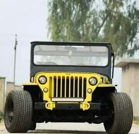 Open and close jeep