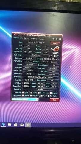 Vga card 8600gt 258mb 128bit ddr3