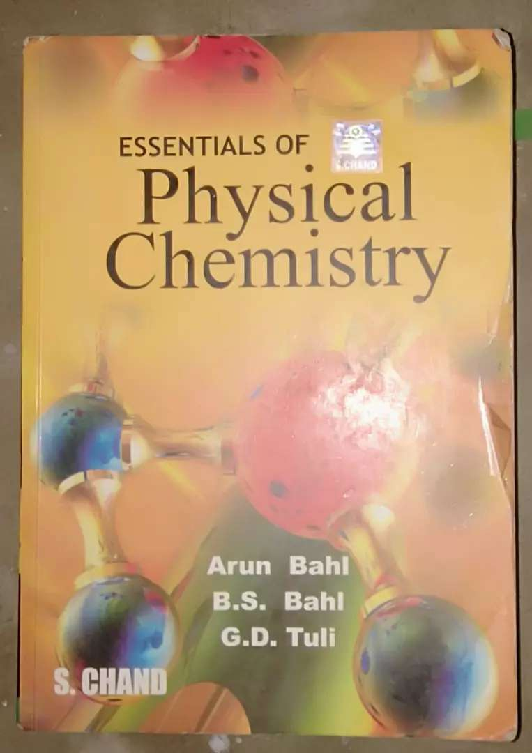 Physical Chemistry by Arun Bahl 0